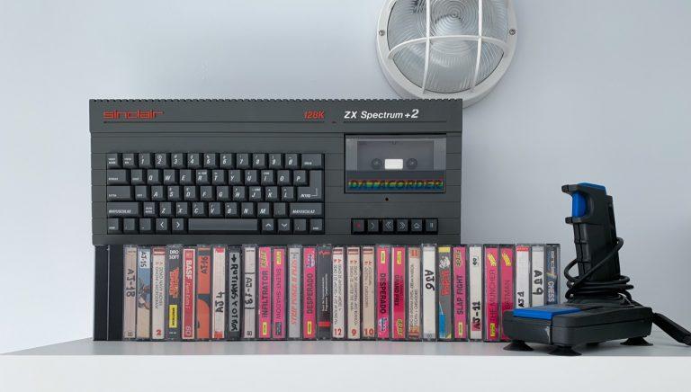 ZX Spectrum+2 en Coworking Castelldefels Centro