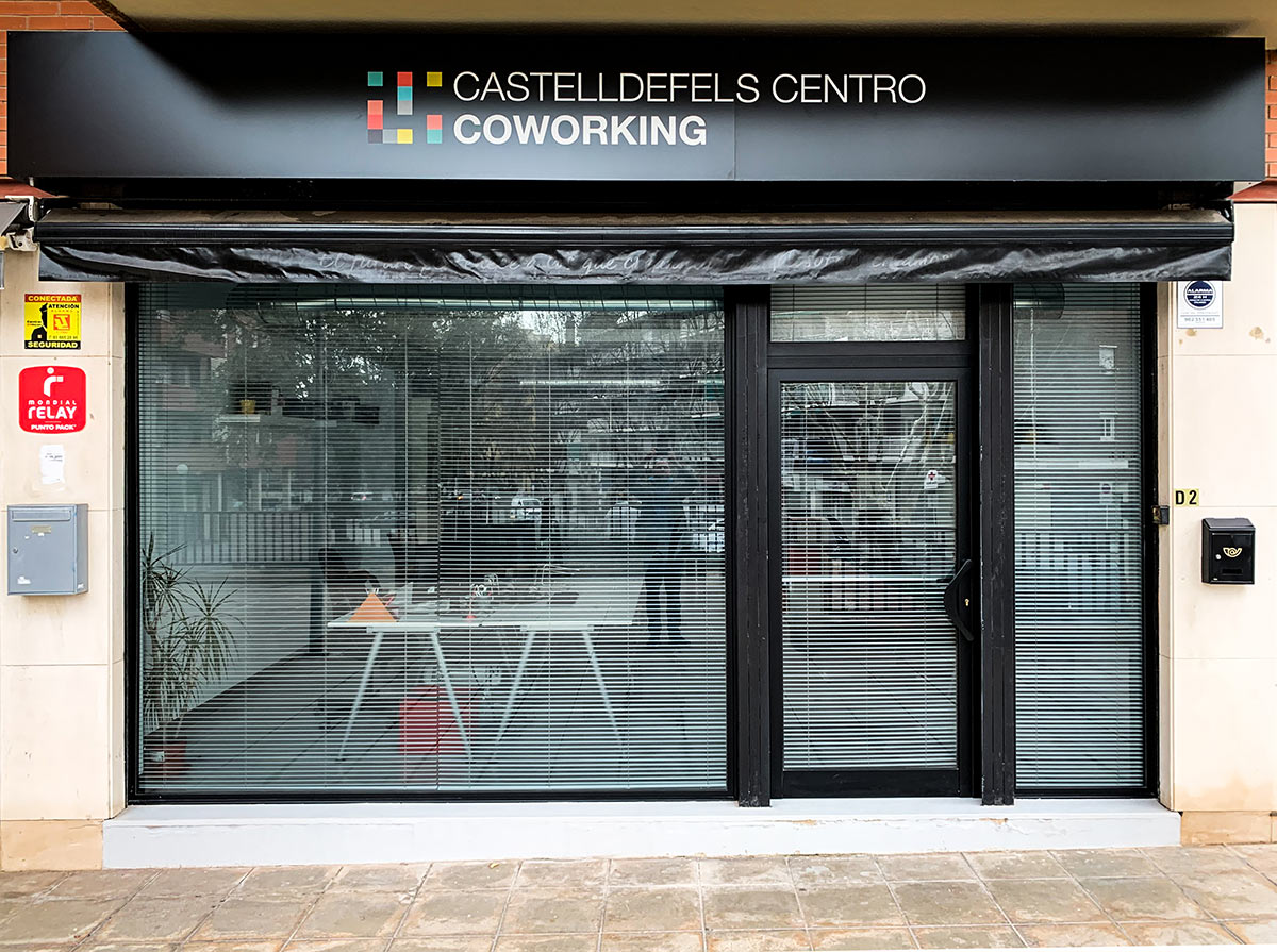 Fachada Coworking Castelldefels Centro